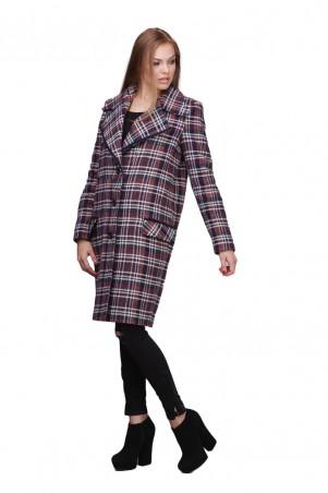 Lilo: Пальто в клетку прямого кроя 01769 - главное фото