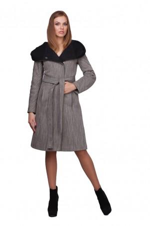 Lilo: Пальто до колен с черным капюшоном 01744 - главное фото