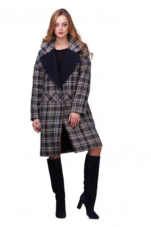 Lilo: Пальто в клетку со спущенным рукавом 01792 - главное фото