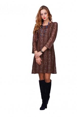 Lilo: Кружевное короткое платье-трапеция 01813 - главное фото