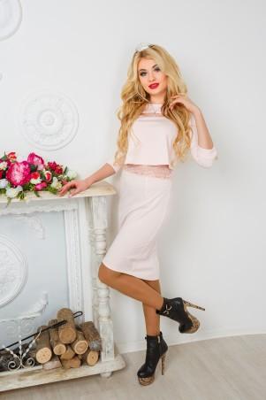 "InRed: Платье "" Peach Queen"" 7156 - главное фото"