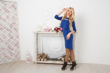 """InRed: Платье """" Blue Queen"""" 7159 - главное фото"""