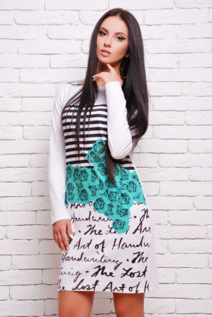 "FashionUp: Платье""Swan"" PL-1054G - главное фото"