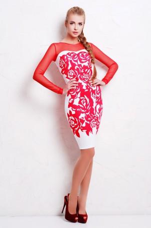Glem: Платье Коралл розы  Донна д/р - главное фото