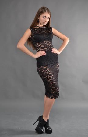 TessDress: Женское гипюровое платье «Ева» 1239 - главное фото