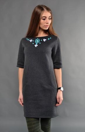 TessDress: Платье в стиле кэжуал «Претта» gray 1245 - главное фото
