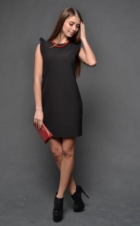 """TessDress: Нарядное женское платье """"Ангелина 2"""" black 1253 - главное фото"""