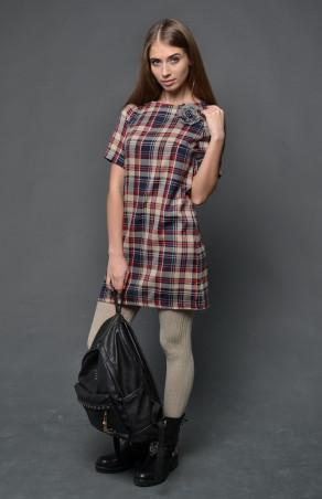 TessDress: Платье в клетку «Барбери 2» 1252 - главное фото