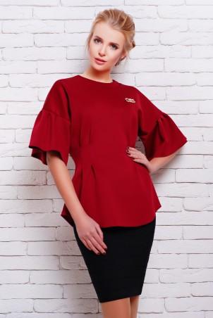 Zefir: Блуза с оригинальным рукавом Инес - главное фото