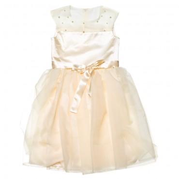 Kids Couture: Платье 15-401 молочное 61116758 - главное фото