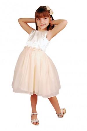 Kids Couture: Платье 15-407 молочное 61116754 - главное фото