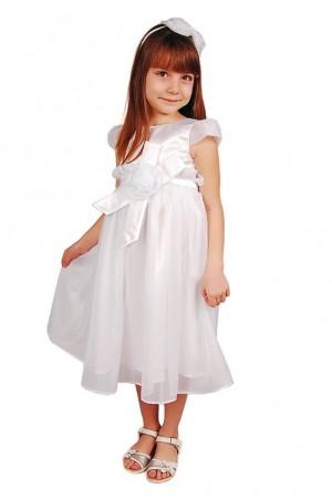 Kids Couture: Платье 15-404 белое 61101750 - главное фото