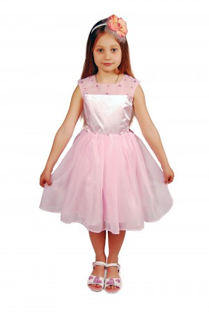 Kids Couture: Платье 15-401 розовое 61103759 - главное фото