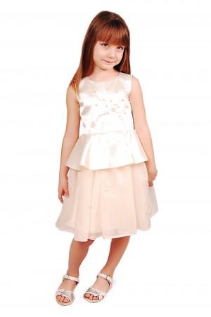 Kids Couture: Платье 15-408 молочное 61116752 - главное фото