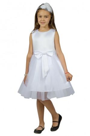 Kids Couture: Платье 15-250 белое 61001735 - главное фото