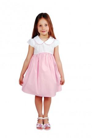 Kids Couture: Платье 2015-4 в розовый горох 61003414 - главное фото
