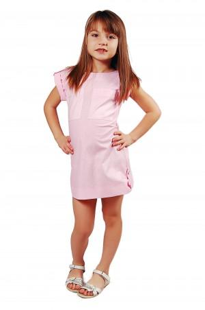 Kids Couture: Платье 2015-31 в розовый горох 61003425 - главное фото