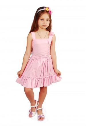 Kids Couture: Платье 2015-90 в розовый горох 61003576 - главное фото