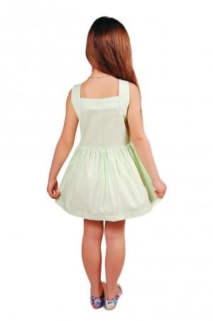 Kids Couture: Платье 15-317 в салатовый горох 61036709 - главное фото