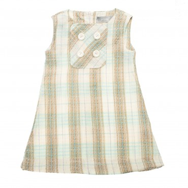 Kids Couture: Сарафан букле, бежевый 7416043903 - главное фото
