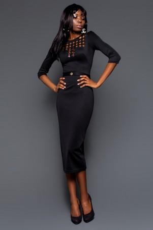 Jadone Fashion: Платье Деним М-2 - главное фото