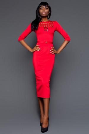 Jadone Fashion: Платье Деним М-1 - главное фото