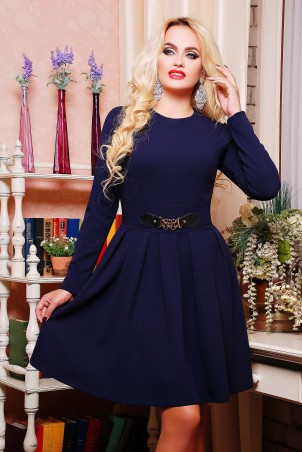 Lenida: Платье Валерия однотон - главное фото