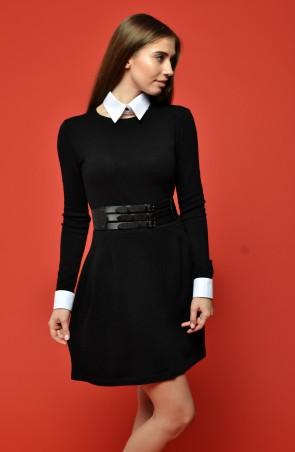 """TessDress: Платье со съёмным воротничком """"Кира"""" 1254 - главное фото"""