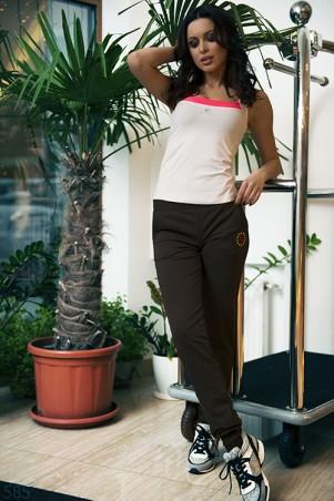 ISSA PLUS: Классические черные спортивные штаны 585_черный - главное фото