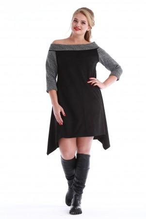Alpama: Платье SO-10955-BLK - главное фото