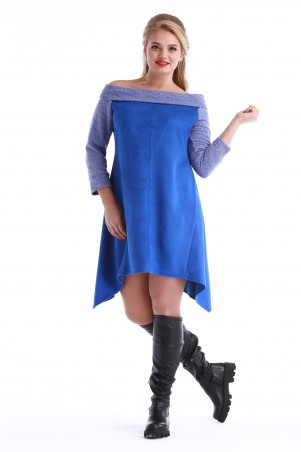Alpama: Платье SO-10955-ELB - главное фото