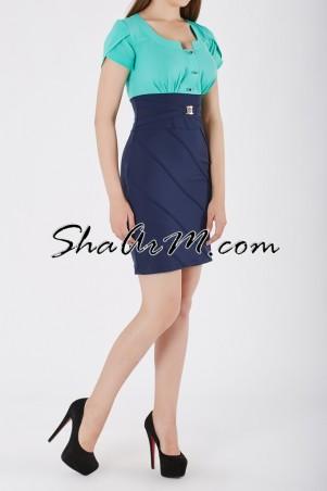 ShaArm: Платье офисное 1303 - главное фото