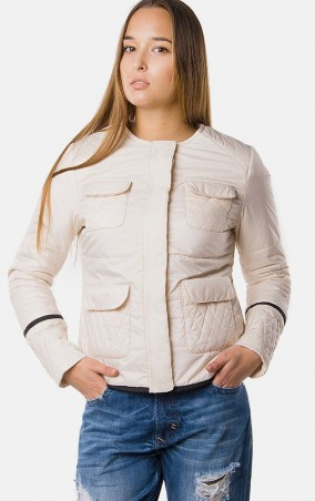MR520 Women: Демисезонная куртка MR 202 2129 0216 Milky White - главное фото