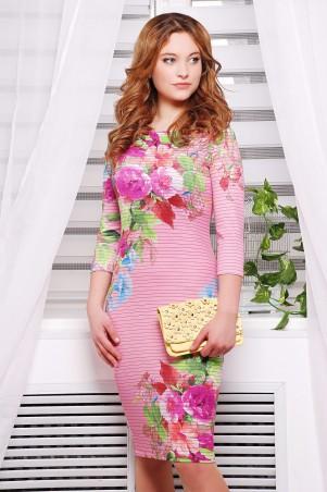 Glem: Платье Весенний букет  Лоя-1 д/р - главное фото