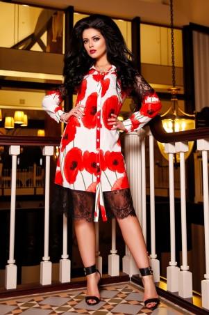 Medini Original: Платье-рубашка Мадрид A - главное фото