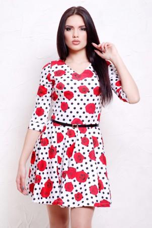 Glem: Платье Розы-горох мелкий  Мая д/р - главное фото