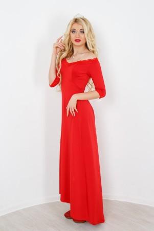 """InRed: Платье красное """"Валери"""" 7174 - главное фото"""