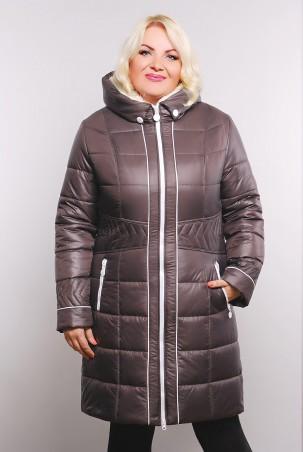 Vicco: Куртка зимняя MILA (цвет шоколад) 1805 - главное фото