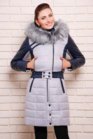 Vicco: Куртка зимняя AMELIA серый (светлый) 1653 - главное фото