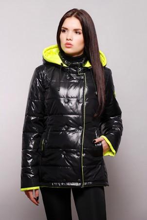 Vicco: Куртка SY - 04 (цвет черный/лимонный) 2674 - главное фото