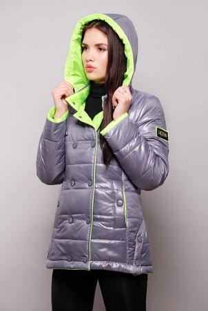 Vicco: Куртка SY - 04 (цвет металлик/салатовый) 2667 - главное фото