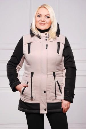 Vicco: Куртка ZLATA (цвет беж/черный) 2732 - главное фото