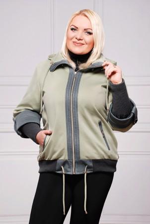 """Vicco: Куртка Куртка """"Veronika"""" (цвет оливка) 2398 - главное фото"""