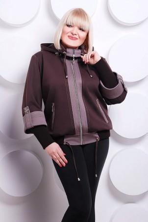 "Vicco: Куртка Куртка ""Veronika"" (цвет коричневый) 2247 - главное фото"