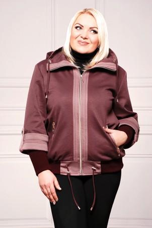"""Vicco: Куртка Куртка """"Veronika"""" (цвет бордо) 2325 - главное фото"""