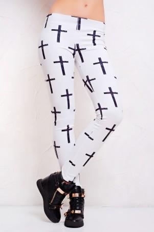 Glem: Лосины Крест белый  РП - главное фото