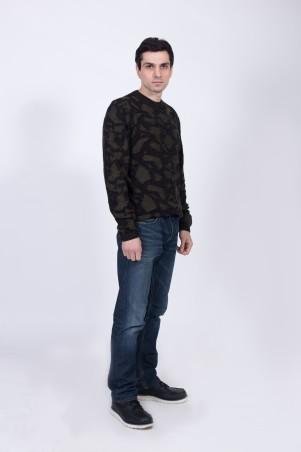 Bakhur Men: Джемпер мужской двухцветный 3031 - главное фото