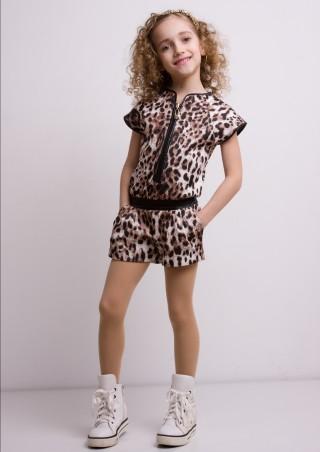 "Sofia Shelest: Комбинезон ""Мариз"" с шортами 000096 - главное фото"