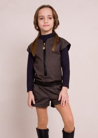 "Sofia Shelest: Комбинезон ""Мариз"" с шортами 000099 - главное фото"