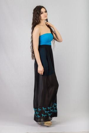 Salma: Платье Круиз-вышивка - главное фото